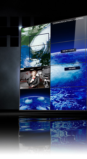 Display per Control room e videosorveglianza evoluta: Hiperwall