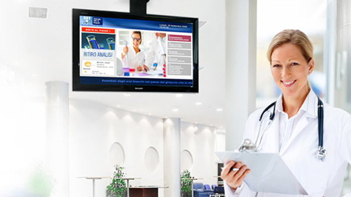 Digital Signage per gli Ospedali: nuovi modi di comunicare