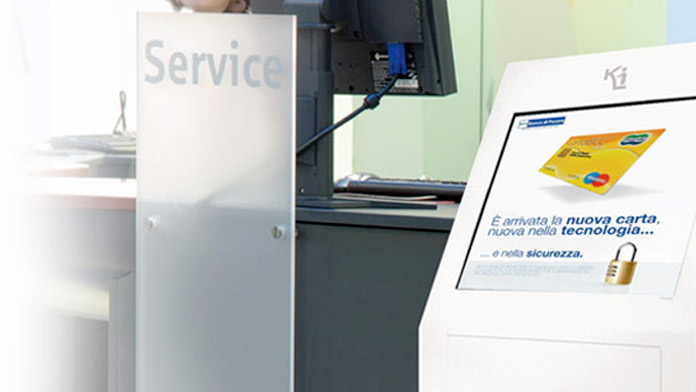 Digital signage nelle filiali bancarie. Quale software?