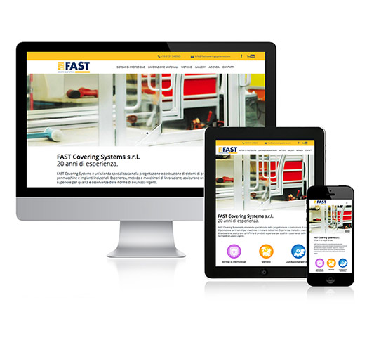 restyling responsive del sito