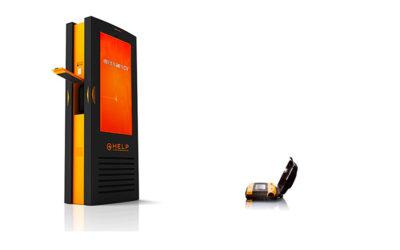 Kiosk HELP –  il totem outdoor con defibrillatore integrato