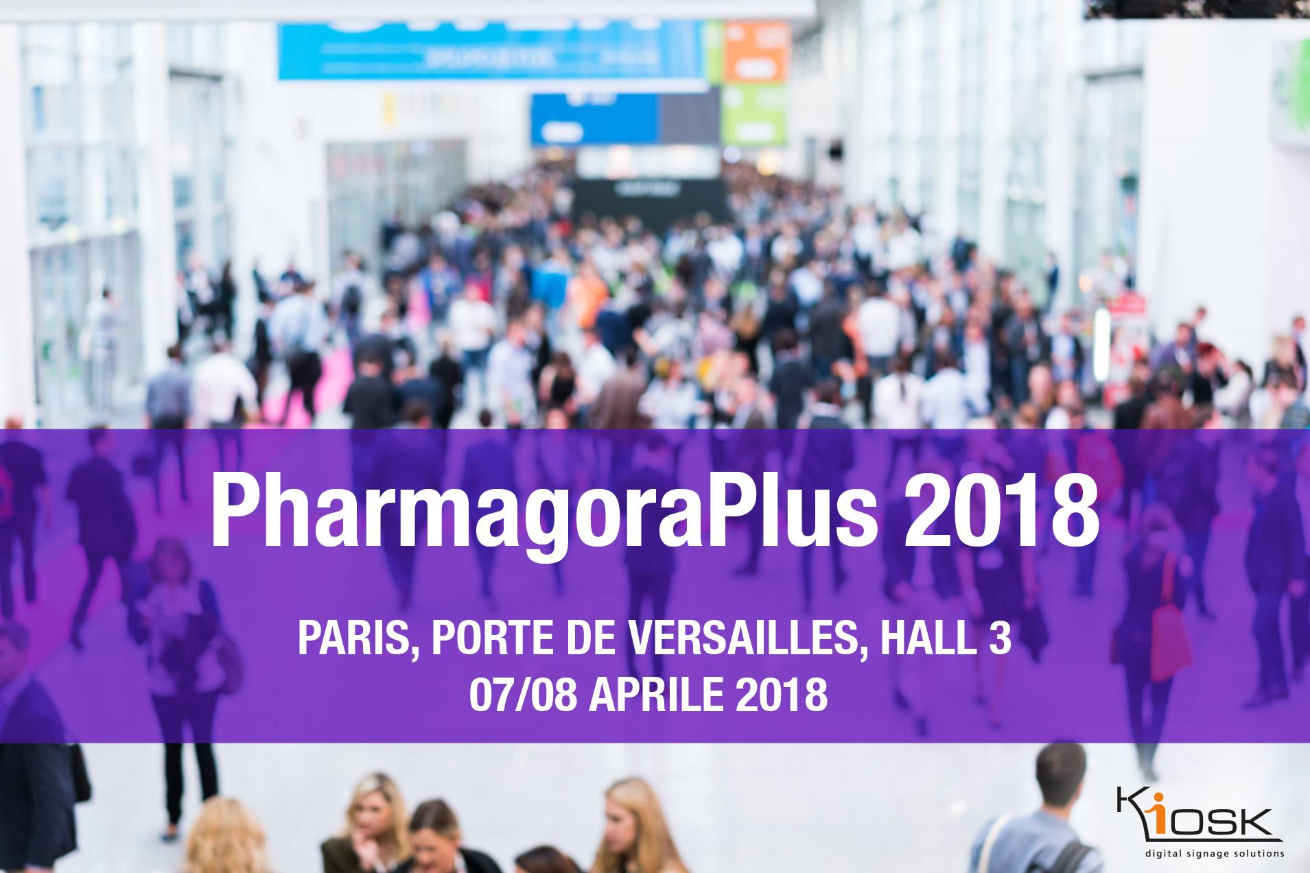 Kiosk partecipa a Pharmagora Plus 2018