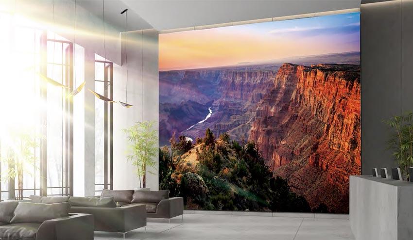 """""""The Wall"""": il display a mattonelle Samsung per videowall di nuova generazione"""