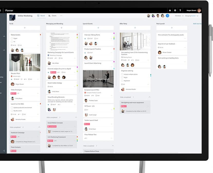 Microsoft Planner - perfetto strumento per lo smart working
